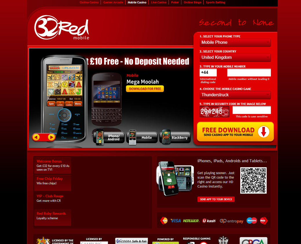 Red32 Casino Online