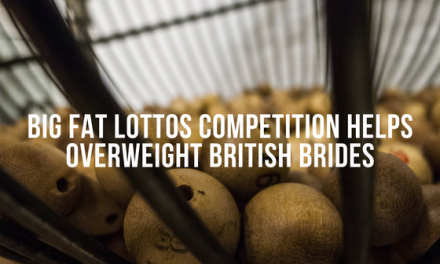 Big Fat Lottos competition helps overweight British brides