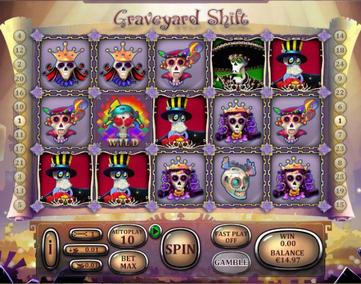 Graveyard Shift Slot Game