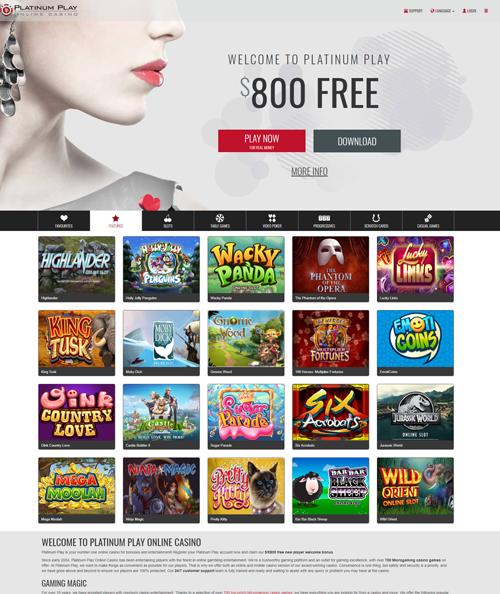 Platinum Play Casino Loyalty