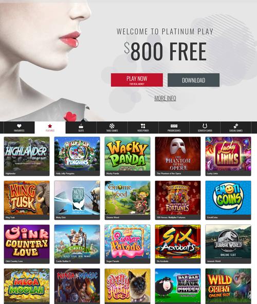 Platinum Play Casino Review 2019 - Get Your €$1,000 Bonus