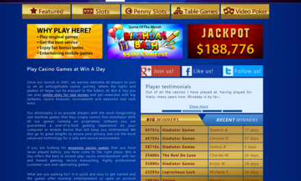 A look at Win A Day Online Casino